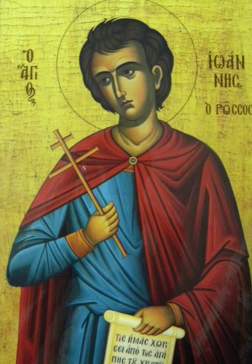 St John the Russian - icon